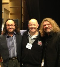 David Mooney and the Hairy Bikers