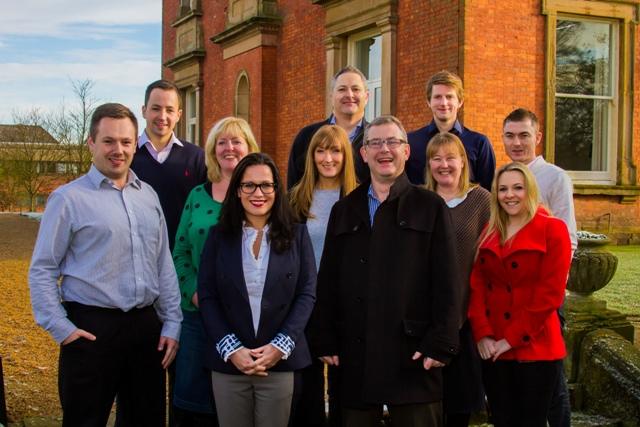 KDR Recruitment team with Mark Dexter front right LR