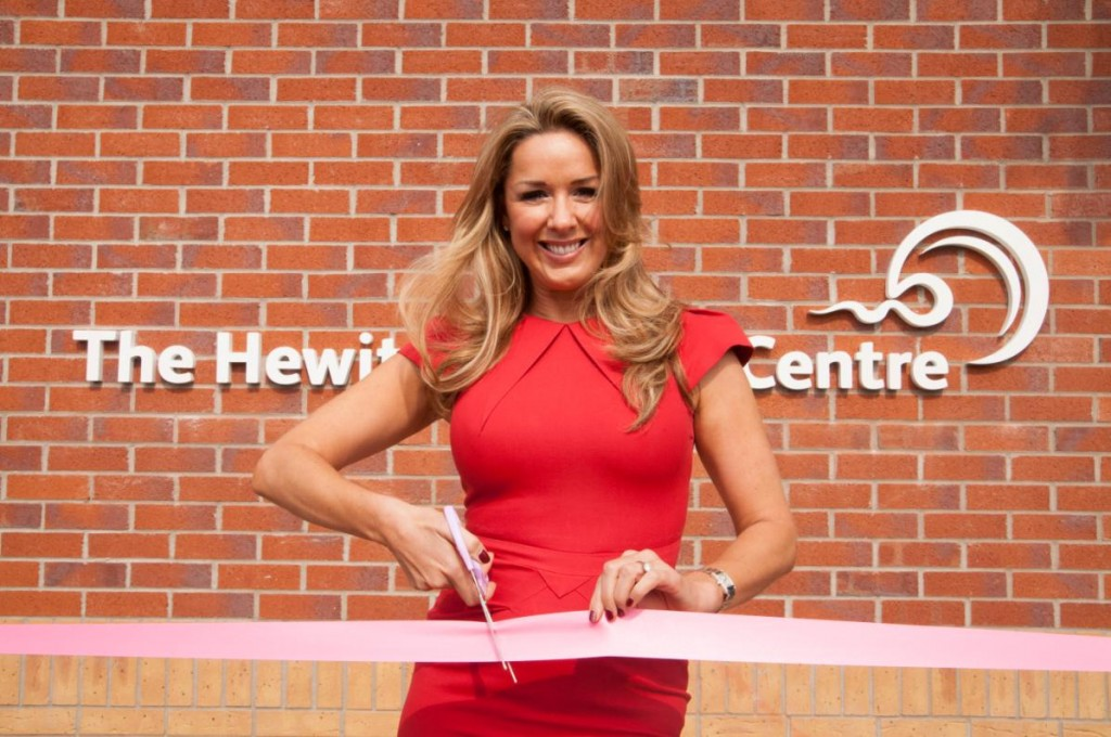 Claire Sweeney with Ribbon2