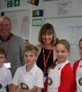 Egerton school visit 30 October 2013