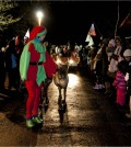 Prancer and Dancer at Lantern Parade