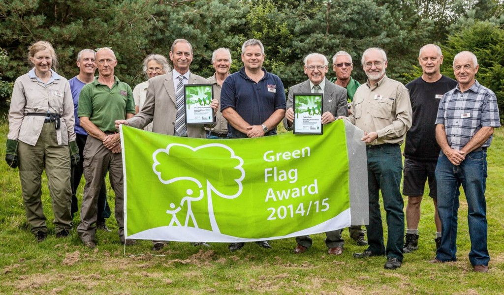 Tatton Park Green Flag award winner