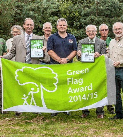 Tatton Park Green Flag award winner