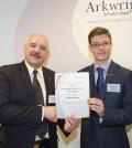 England, UK . 30.10.2014. London . Arkwright Scholarship Awards.